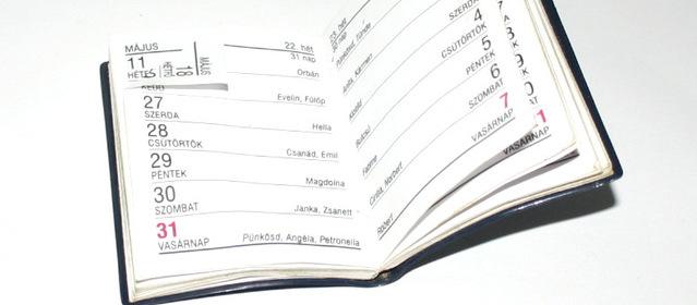 Jak prowadzić kalendarz?